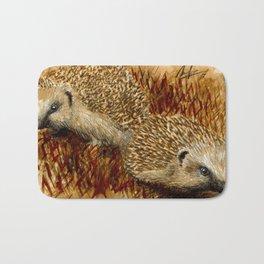 hedgehogs Bath Mat