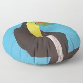 Toucan In Suit Floor Pillow