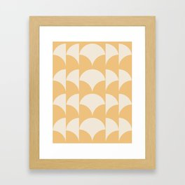 Cleo Pattern - Sunrise Framed Art Print