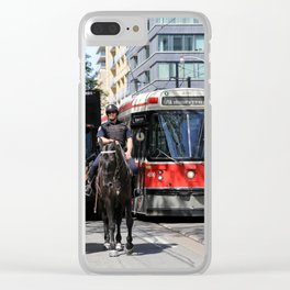 Red Rocket 30 Clear iPhone Case