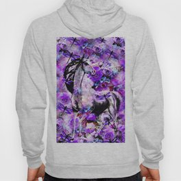 HORSE ROSES DRAGONFLY IMPRESSIONS Hoody