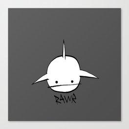 minima - hover shark Canvas Print