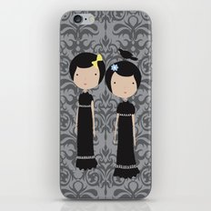 Meredith and Delany: Vampire Twins iPhone & iPod Skin