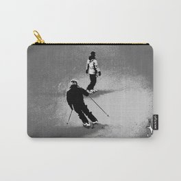 Skiing and Snowboarding Winter Fun Carry-All Pouch