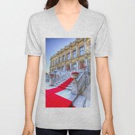Ciragan Palace Istanbul Red Carpet Unisex V-Neck