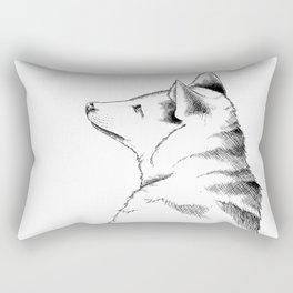 Golden Jackal Rectangular Pillow