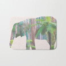 The Lonely Elephant Bath Mat