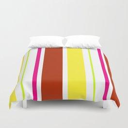 Stripes in colour 4 Duvet Cover