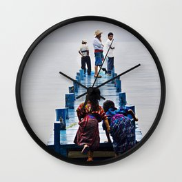 Excited Wall Clock