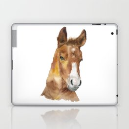 Horse Head Watercolor Laptop & iPad Skin