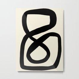 Modern Minimal Abstract #3 Metal Print