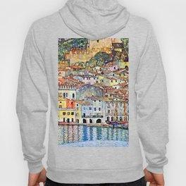Gustav Klimt Malcesine on Lake Garda Hoody