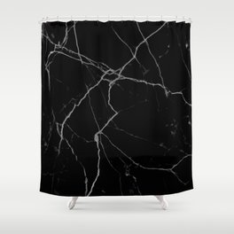black marble I Shower Curtain