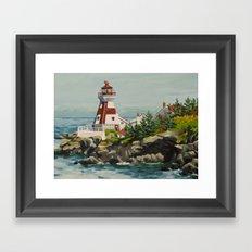 Campobello Island Light Framed Art Print