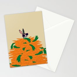 Cool bunny Stationery Cards
