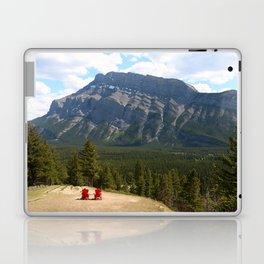 Enjoying The Beautiful View Laptop & iPad Skin