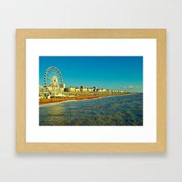 Brighton Seafront Framed Art Print