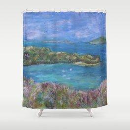 Cruz Bay, St. John Shower Curtain