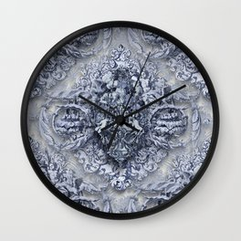 AnGeLique bLue Wall Clock