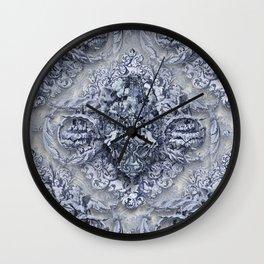 AnGeLique bLue Wall Clock