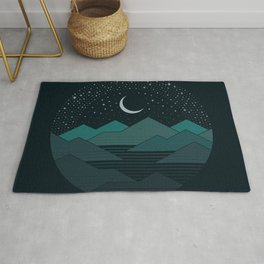 Between The Mountains And The Stars Rug
