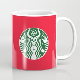 The Red Cup Of Doom Coffee Mug