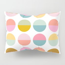 Colorful and Bright Circle Pattern Pillow Sham