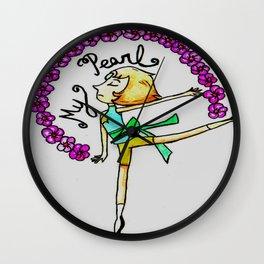 My Pearl Wall Clock