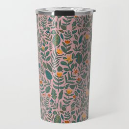 Blush Tiny Florals Travel Mug