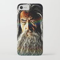 gandalf iPhone & iPod Cases featuring Gandalf by D77 The DigArtisT