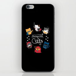 Dungeons And Cats iPhone Skin