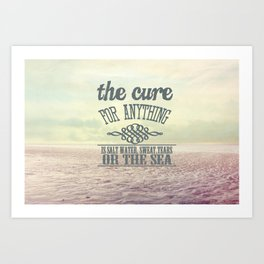 The Cure for Anything  Art Print