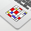 Mondrian #60 by rockettgraphics