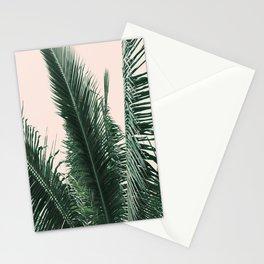 Maui Sunset Palm Leaves Tropicana Stationery Cards