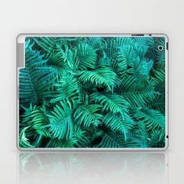 Fern Photography | Emerald | Turquoise |Tropical Leaves | Art Print Laptop & iPad Skin