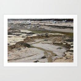Mud season Art Print
