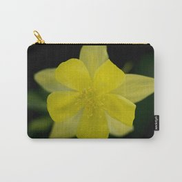 Golden Spur Columbine in Bloom Carry-All Pouch