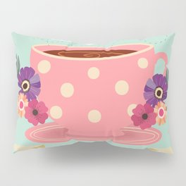 Tea Is A Hug In A Cup Pillow Sham