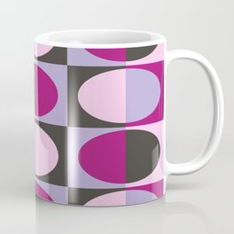 Retro MidCentury Oval pattern 3 Coffee Mug