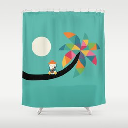 Amazing Vocation Shower Curtain