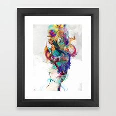 Let it out Framed Art Print