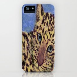 Baby Leopard iPhone Case