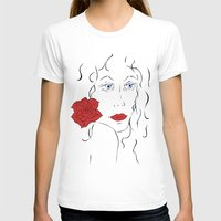 spanish T-shirts featuring Spanish women by Black-Dragon