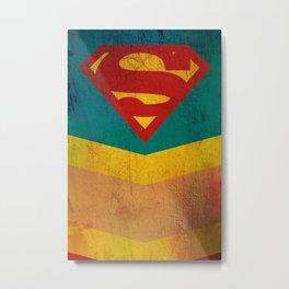 Supergirl Metal Print