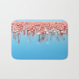 Flock of Flamingo's Bath Mat