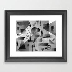 Gradients Framed Art Print