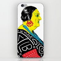 fat iPhone & iPod Skins featuring Fat Woman by R. Gorkem Gul