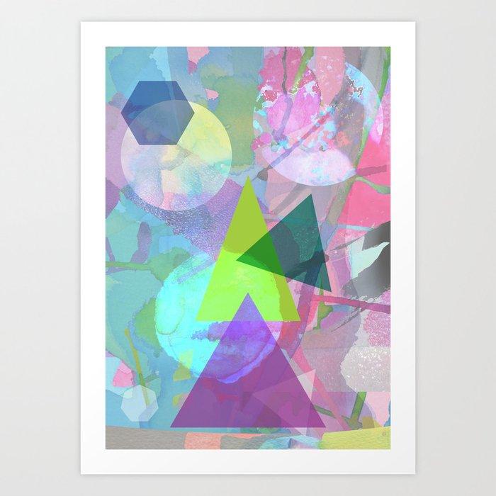 Abstract 5 Art Print by oliviajames   Society6 - photo #43