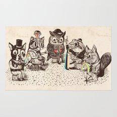 Strange Animals Rug