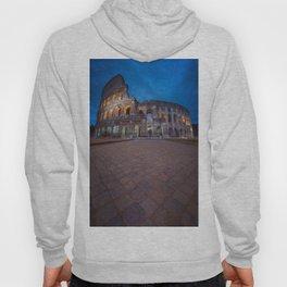 Colosseum at night Hoody